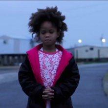 Beasts of the Southern Wild: la giovane protagonista Quvenzhané Wallis in una scena del film