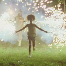 Beasts of the Southern Wild: Quvenzhané Wallis in una scena del film