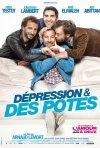 Dépression & des potes: la locandina del film