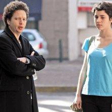 Después de Lucía: la protagonista Tessa Norvind sul set del film insieme al regista messicano Michel Franco