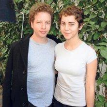 Después de Lucía: Tessa Norvind con il regista messicano Michel Franco in una foto promozionale
