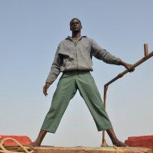 La pirogue: una scena tratta dal film diretto dal senegalese Moussa Touré