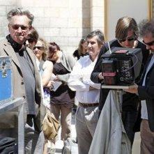 Le grand soir: i registi Benoît Delépine e Gustave Kervern sul set del film