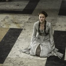 Game of Thrones:  Sophie Turner nell'episodio Garden of Bones