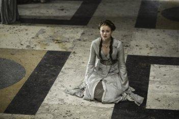 Game of Thrones:  Sophie Turner nell'episodio Garden of Bones