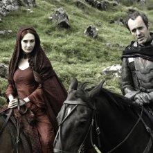 Game of Thrones: Stephen Dillane e Carice van Houten nell'episodio Garden of Bones