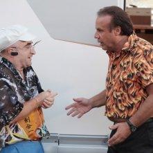Operazione vacanze: Jerry Calà in una scena del film insieme a Rocco Ciarmoli