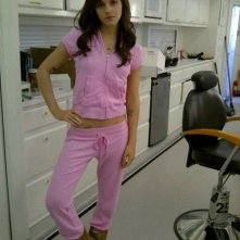 Emma Watson tatuata nei panni di Nicki sul set di The Bling Ring