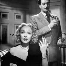 Marlene Dietrich in Paura in palcoscenico