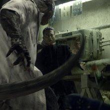 The Lizard in azione nella prima immagini ufficiale del personaggio di The Amazing Spider-Man
