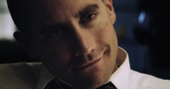 Un primissimo piano di Jake Gyllenhaal in End of Watch