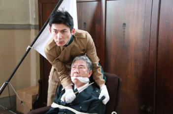 11/25 The Day Mishima Chose His Own Fate: Hideo Nakaizumi in una scena del film