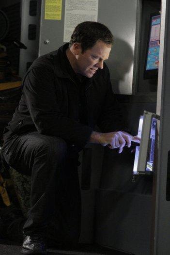 Chuck: Adam Baldwin nell'episodio Chuck Versus the Bullet Train