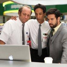 Chuck: Danny Pudi, Scott Krinsky e Joshua Gomez nell'episodio Chuck Versus the Hack Off