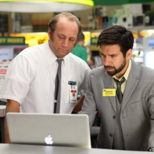 Chuck: Scott Krinsky e Joshua Gomez nell'episodio Chuck Versus the Hack Off