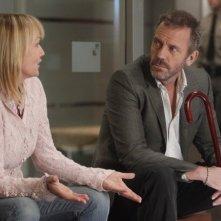 Dr House: Darlene Vogel e Hugh Laurie nell'episodio Runaway