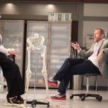 Dr House: Hugh Laurie e Odette Annable nell'episodio Affare rischioso