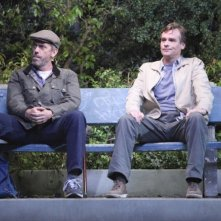 Dr House: Hugh Laurie e Robert Sean Leonard nell'episodio Post Mortem