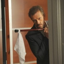 Dr House: Hugh Laurie nell'episodio Holding On