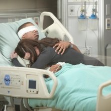 Dr House: Odette Annable e Michael B. Jordan nell'episodio Love is Blind