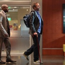 Dr House: Omar Epps ed Hugh Laurie nell'episodio Holding On