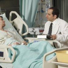 Dr House: Peter Jacobson e Greg Finley nell'episodio Gut Check