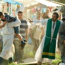Elefante blanco: Ricardo Darín in una scena del film