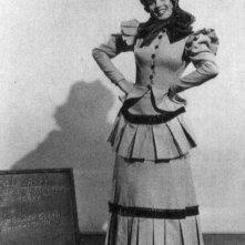 Marilyn Monroe durante la lavorazione della commedia La figlia dello sceriffo