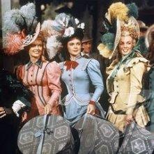 Marilyn Monroe, Joyce Mackenzie, Marion Marshall, Barbara Smith ne La figlia dello sceriffo