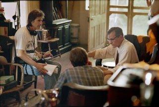 On the Road: il regista Walter Salles sul set del film con Viggo Mortensen