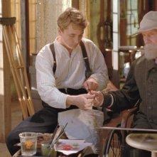 Renoir: Michel Bouquet, nei panni del grande Renoir, in una scena con Vincent Rottiers nei panni del figlio Jean