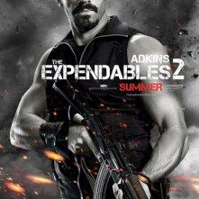 I mercenari 2 (The Expendables 2): character poster per Scott Adkins