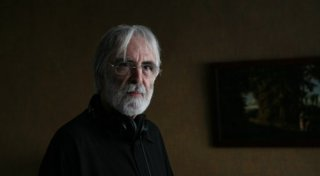 Amour: il regista Michael Haneke sul set del film