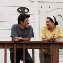 Moon So-ri in una scena del film In Another Country