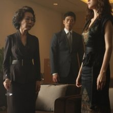 Taste of Money: Kim Hyo-jin, Kim Kang-woo e Yoon Yeo-jeong in una scena del film