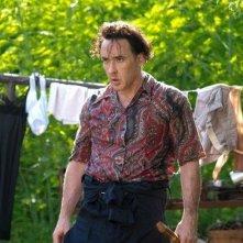 The Paperboy: John Cusack con lo sguardo assassino in una scena del film