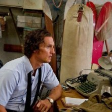 The Paperboy: Matthew McConaughey in una scena del film nei panni di Ward James