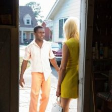 The Paperboy: Nicole Kidman (di spalle) in una scena del film insieme a David Oyelowo
