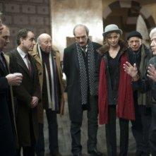 Vous n'avez encore rien vu: il regista Alain Resnais sul set dirige il suo cast