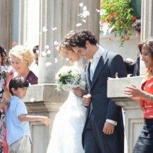 A perdre la raison: Émilie Dequenne e Tahar Rahim sposi in una scena del film sentimentale di Joachim LaFosse