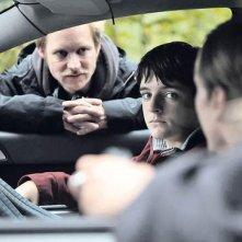 Die Vermissten: il regista Jan Speckenbach con Luzie Ahrens sul set