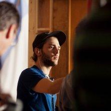 Laurence Anyways: il regista Xavier Dolan sul set