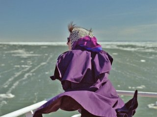 Laurence Anyways: Melvil Poupaud in mare in una scena del film