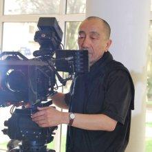 Student: il regista Darezhan Omirbayev sul set del film