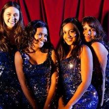The Sapphires: le protagoniste Jessica Mauboy, Deborah Mailman, Shari Sebbens e Miranda Tapsell in una foto promozionale