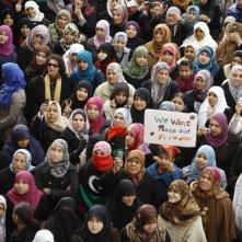 The Oath of Tobruk: le donne libiche in una scena del documentario sulla guerra che ha segnato la fine della dittatura di Gheddafi