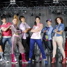 Una foto promozionale per il cast di Violetta