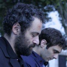 Alyah: i protagonisti Pio Marmaï e Cédric Kahn in una scena del film