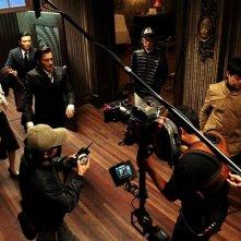 Dangerous Liasons: Dong-kun Jang sul set del film durante le riprese