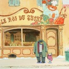 Ernest et Célestine: una scena del film d'animazione